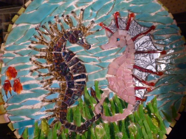Seahorse Mosaic