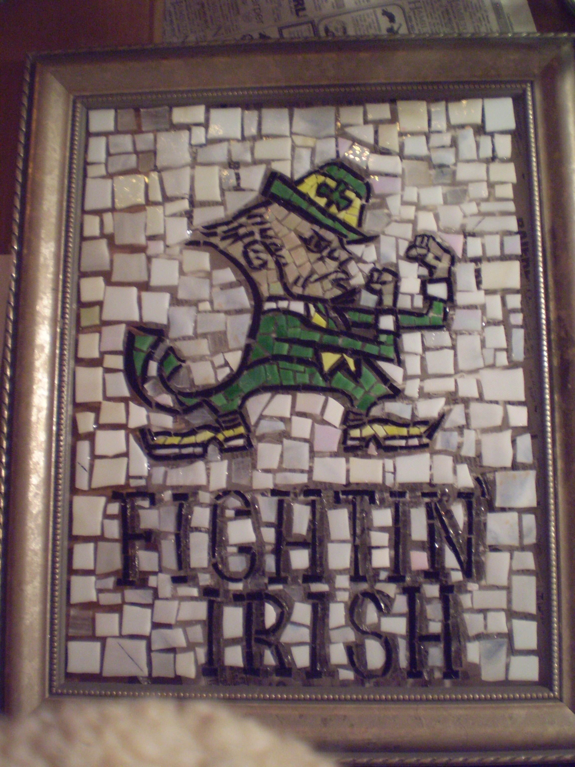 Fighting Irish Mosaic