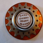 Less Gears More Beers Belt buckle